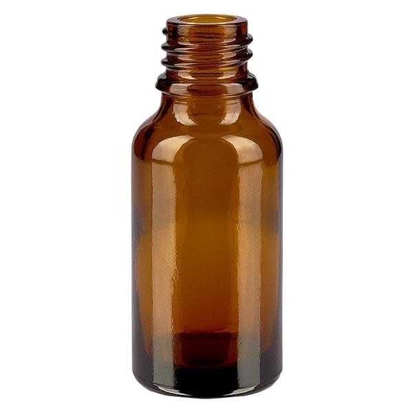 Tropfflasche 20ml ND 18 Braunglas Apothekenglas