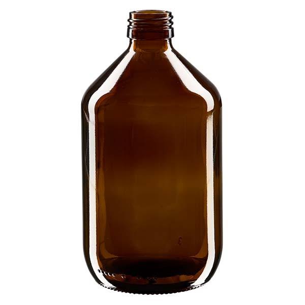 500ml Euro-Medizinflasche braun