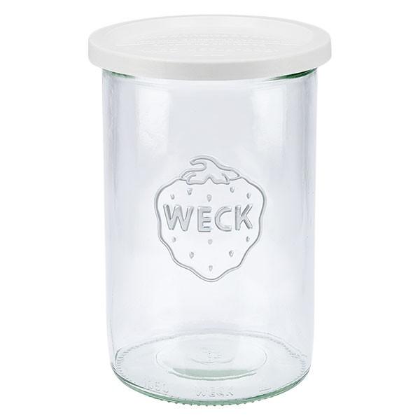 WECK 1000ml Sturzglas mit Frischhalte Deckel