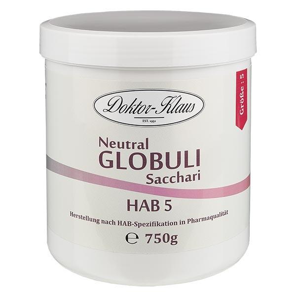 750g Neutral Globuli HAB5 aus 100% reiner Saccharose