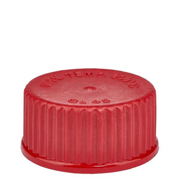 Schraubverschluß - Kappe GL 45 rot