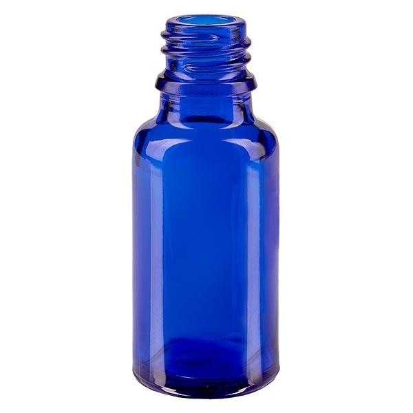 Tropfflasche 20ml ND 18 Blauglas Apothekenglas