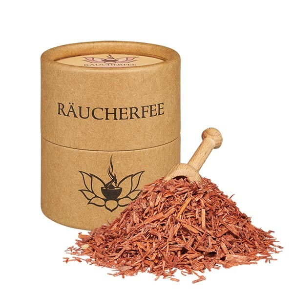 Rotsandelholz Späne - 50ml Räucherwerk