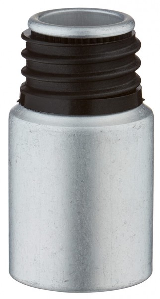 10ml Aluminium-Flasche gebeizt ohne Verschluss