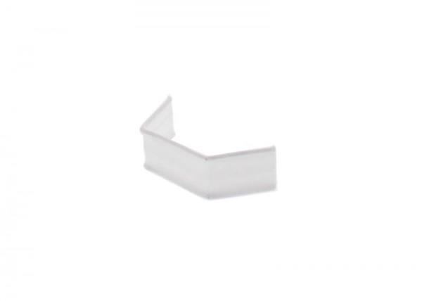 100 x U-Clip aus Papier, Länge 33, weiß