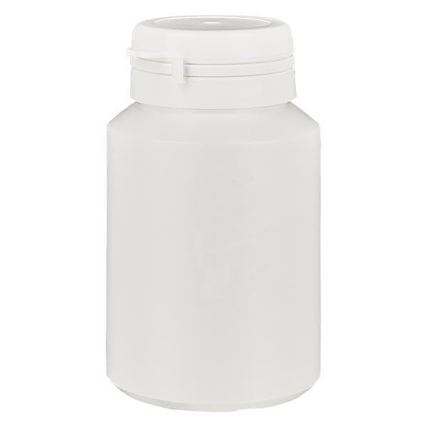 Kapselbox 100 ml weiss mit Jaycap OV weiss