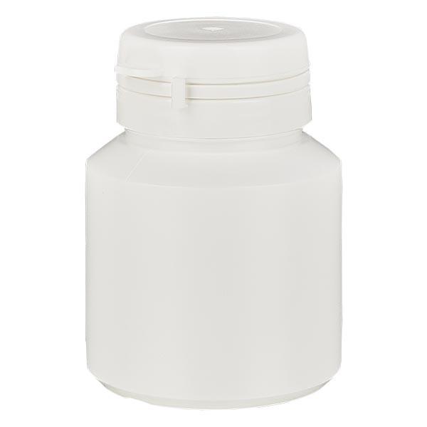 Kapselbox 40 ml weiss mit Jaycap OV weiss