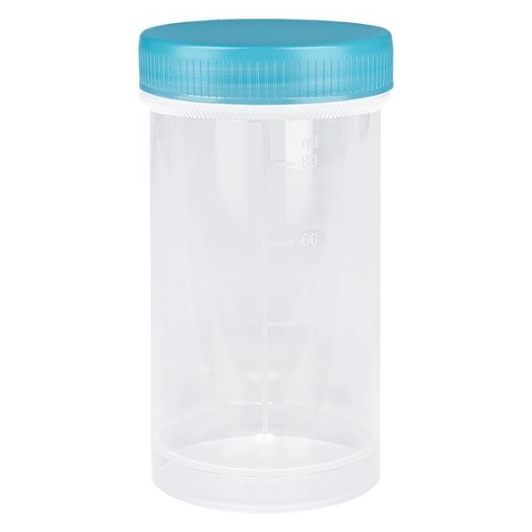 Universal Kunststoffdose (Pathogefäss) 100ml