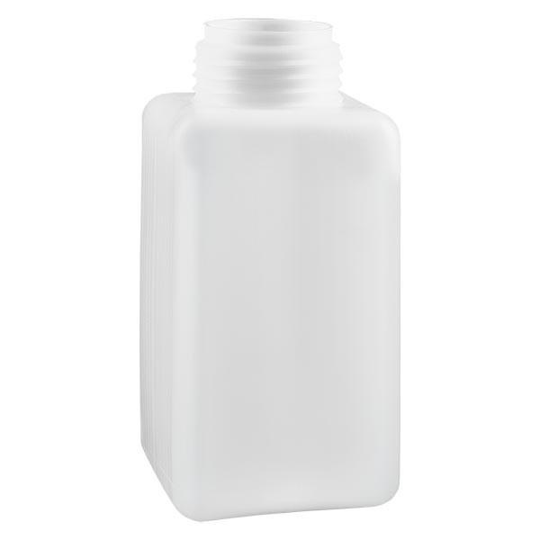 Chemikalienflasche 1500ml, Weithals aus PE-HD, naturfarbig, GL 65