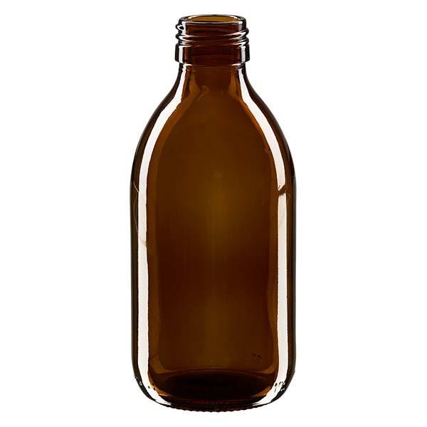 250ml Euro-Medizinflasche braun