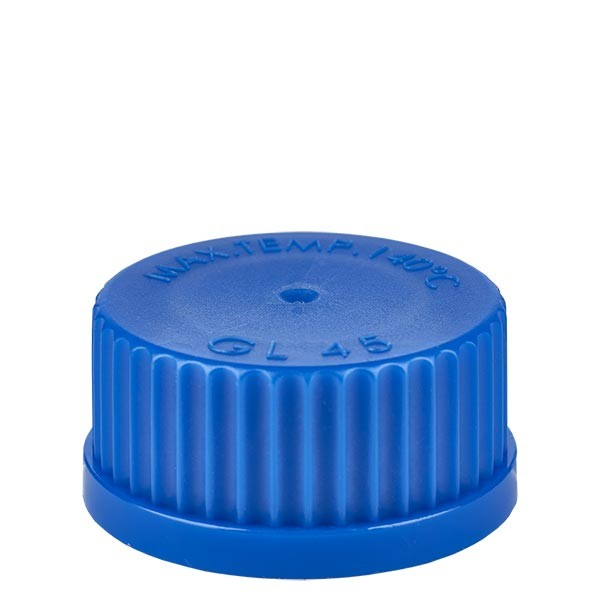 Schraubverschluß - Kappe GL 45 blau